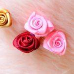 نمونه زیبا و جدید گلسازی ریبون 16