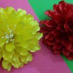 نمونه زیبا و جدید گلسازی ریبون 17