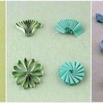 نمونه زیبا و جدید گلسازی ریبون 25