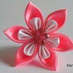 نمونه زیبا و جدید گلسازی ریبون 27
