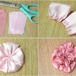 نمونه زیبا و جدید گلسازی ریبون 6