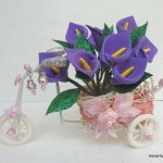 نمونه گلسازی با فوم 11