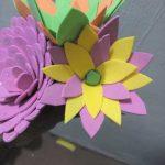 نمونه گلسازی با فوم 14