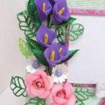 نمونه گلسازی با فوم 24