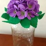 نمونه گلسازی با فوم 25