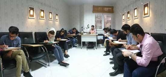 کلاس آموزش خطاطی