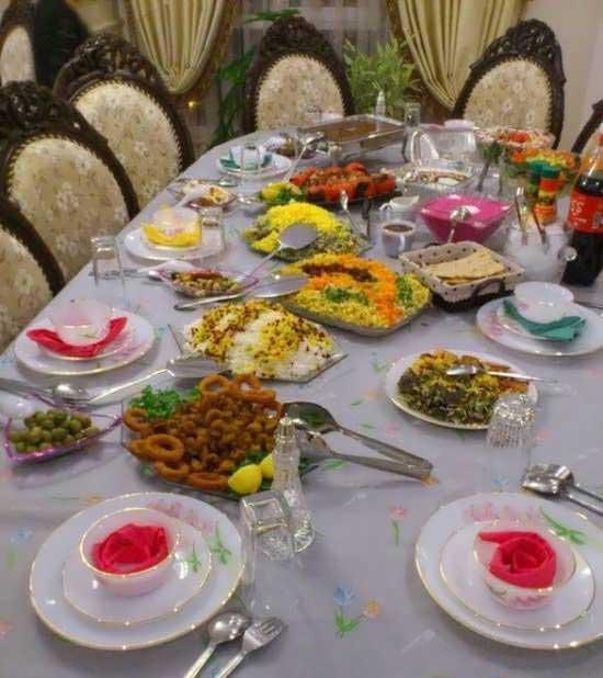 تزیین-سفره-شام2