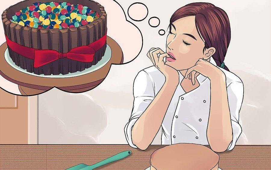 نحوه تزئین کیک تولد 1