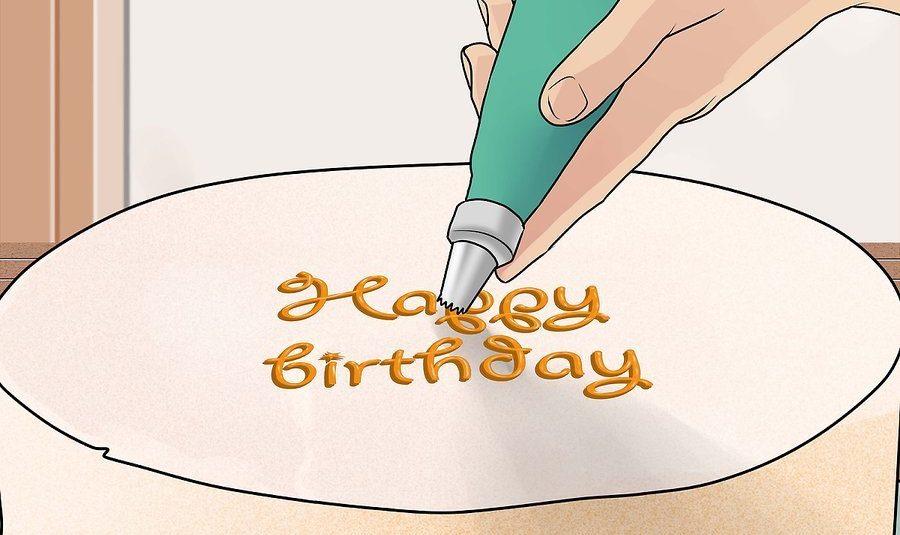 نحوه تزئین کیک تولد 15