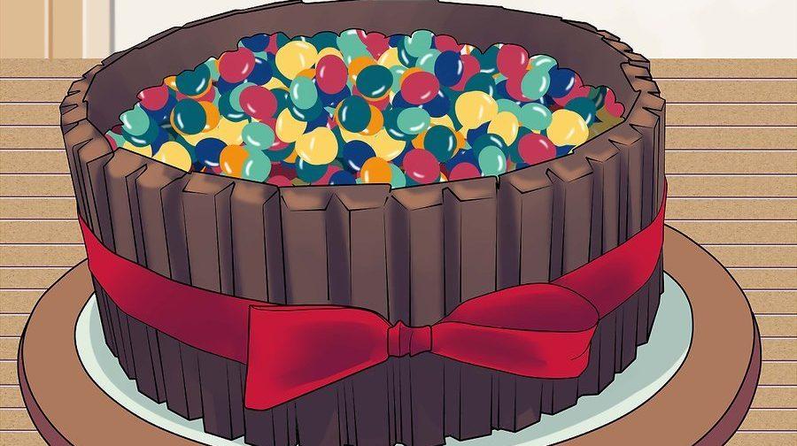 نحوه تزئین کیک تولد 19