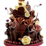 نحوه تزئین کیک تولد 25