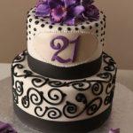 نحوه تزئین کیک تولد 34