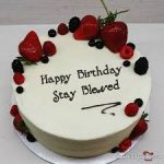 نحوه تزئین کیک تولد 37