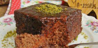 طرز تهیه کیک خیس ترکیه