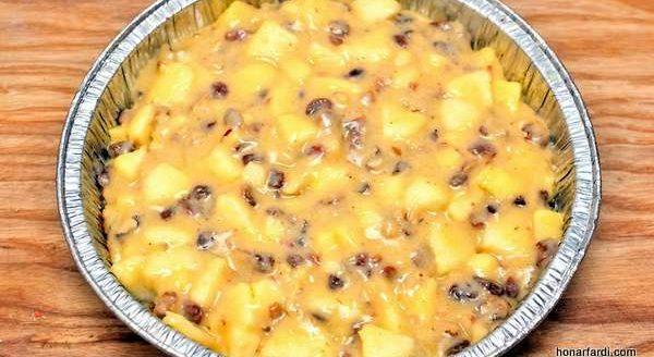 طرز تهیه کیک سیب 6