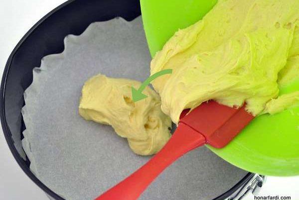 طرز تهیه کیک وانیلی 6