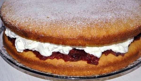 طرز تهیه کیک وانیلی 18