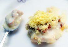طرز تهیه کیک انبه یخچالی