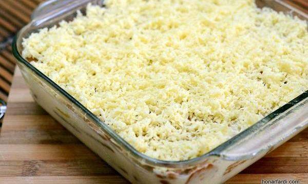 طرز تهیه کیک انبه یخچالی 10