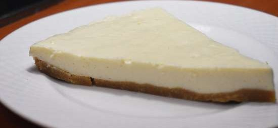 چیز کیک خانگی 17