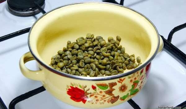 طرز تهیه قهوه سبز خانگی 2