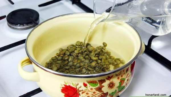 طرز تهیه قهوه سبز خانگی 3