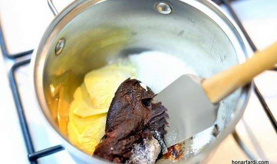 طرز تهیه کیک براونی 2
