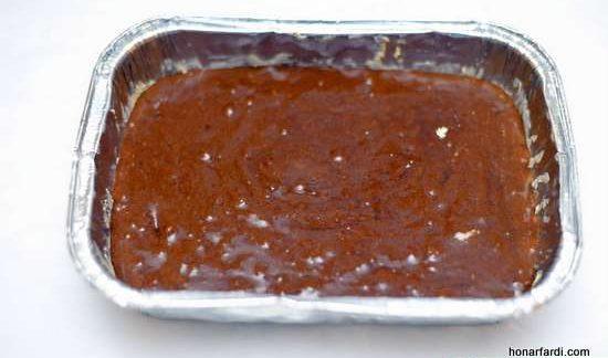 طرز تهیه کیک براونی 7