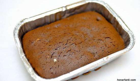 طرز تهیه کیک براونی 8