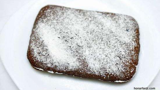 طرز تهیه کیک براونی 9