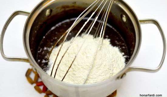 طرز تهیه کیک براونی 14