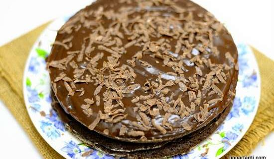طرز تهیه کیک براونی 23
