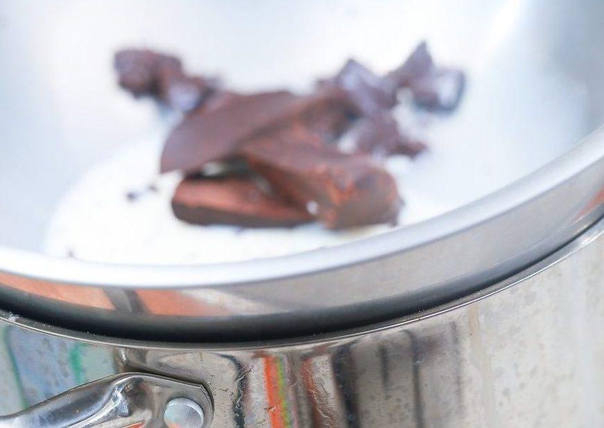 طرز تهیه سس شکلات 2