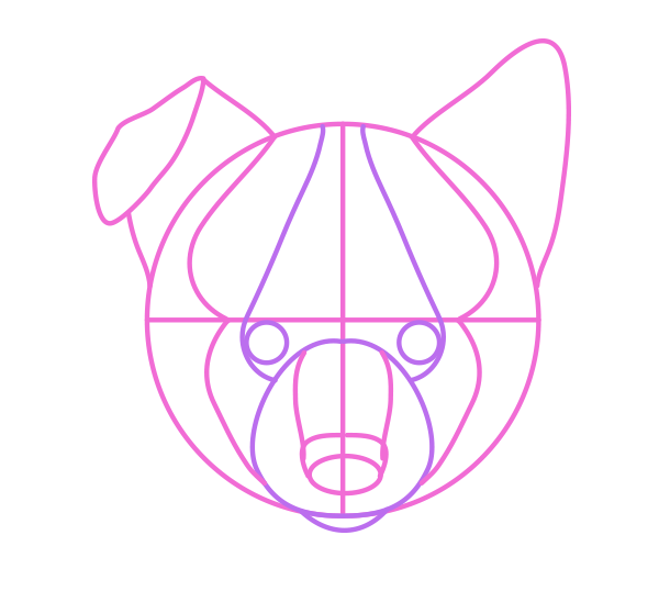 Description: drawingdogs_4-8_puppy_head