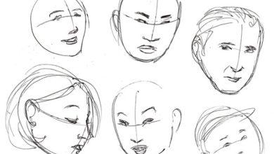 Photo of آموزش گام به گام اصول اولیه در ترسیم چهره (به زبان کاملا ساده)