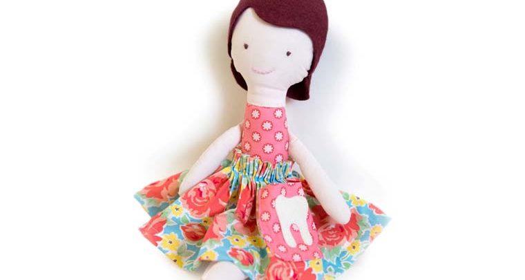 طرح نهایی عروسک دامن رنگی گلگلی