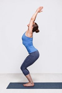 Chair #12 of the Yoga Poses for Beginners