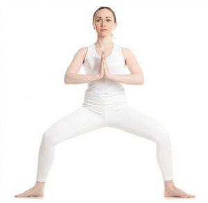 goddess pose for hips
