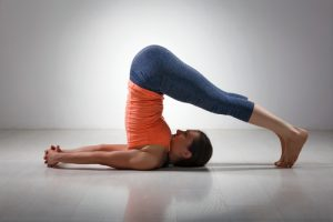 Plow #14 of the Yoga Poses for Beginners