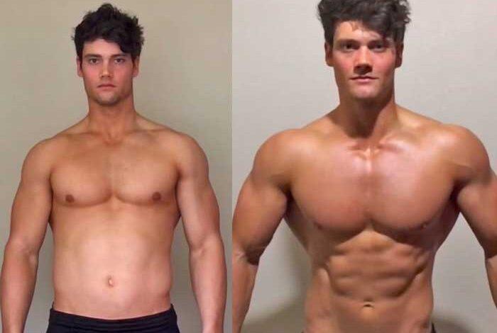 قبل و بعد در بدنسازی