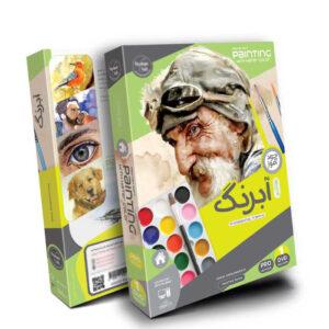 پکیج آموزش نقاشی آبرنگ به زبان فارسی