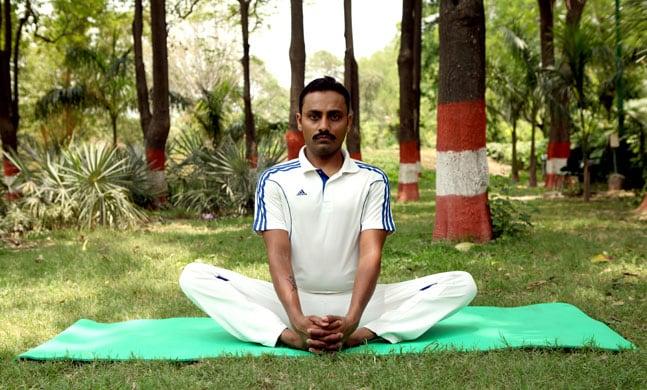 Baddha Konasana/ Bound Angle Pose