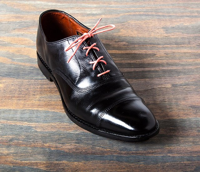 How Shine Your Shoes: Step 9. Dry and Re-lace