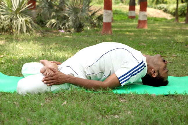 Matsyasana/ Fish pose