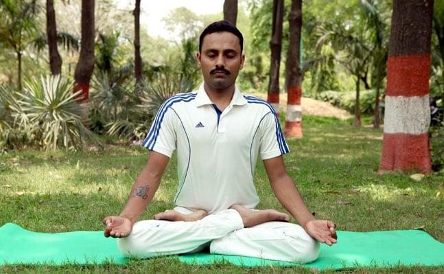 Padmasana/ Lotus pose