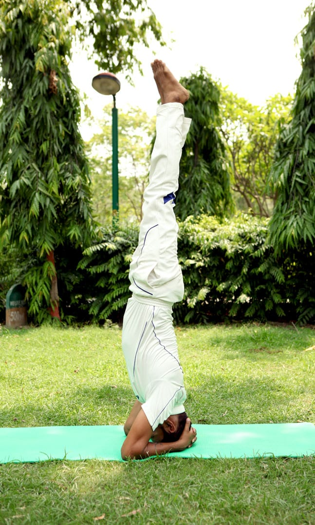 Salamba Sirsasana/ Supported headstand