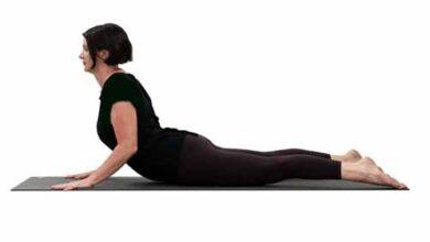 یوگا درمانی حرکت کبری