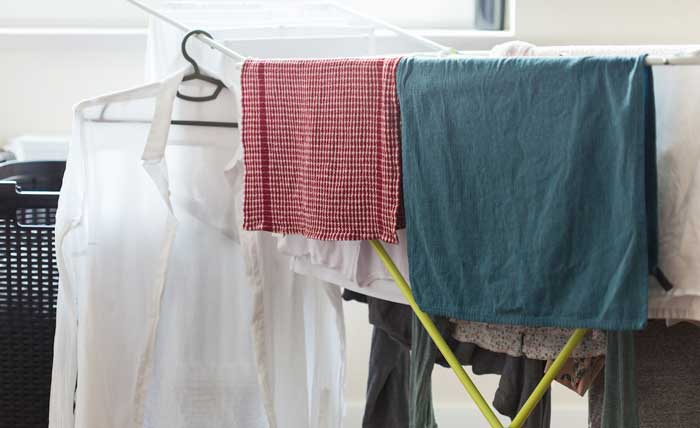 خشک کردن لباس
