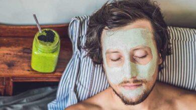 ماسک صورت مردانه