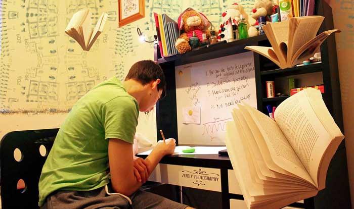 در حال مطالعه کردن